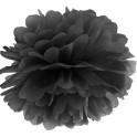 Aantrekkelijk geprijsde pompoms 25 en 35 cm zwart