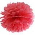 Aantrekkelijk geprijsde pompoms 25 en 35 cm rood