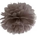 Aantrekkelijk geprijsde pompoms 25 en 35 cm bruin