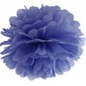 Aantrekkelijk geprijsde pompoms 25 en 35 cm navy blue