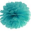 Aantrekkelijk geprijsde pompoms 25 en 35 cm turquoise