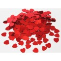 Glansconfetti 'Red Hearts'