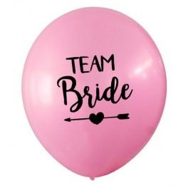 Ballonnen Team Bride Tribe roze