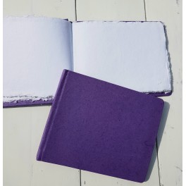 Gastenboek Happiness Purple