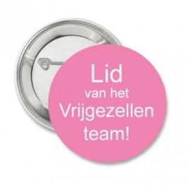 Button 'Lid van...' roze