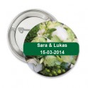 Button Green Romance