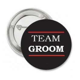 Button Team Groom Black
