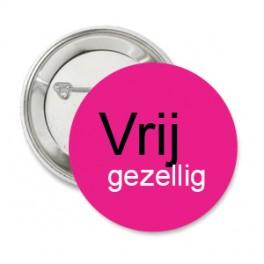 Button Vrij gezellig roze