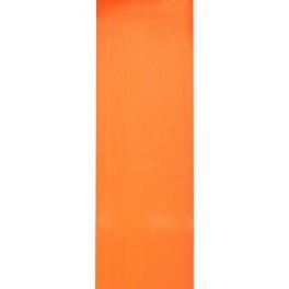 Satijnlint 5 meter x 70 mm breed oranje
