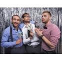 Pak met drie foto props Team Groom