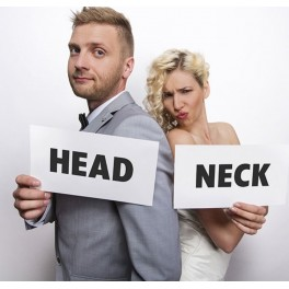 Funny cards Head en Neck
