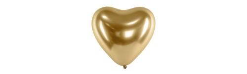 Glossy metallic ballonnen