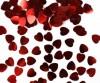 Super aanbieding hartvormige rode glans confetti!
