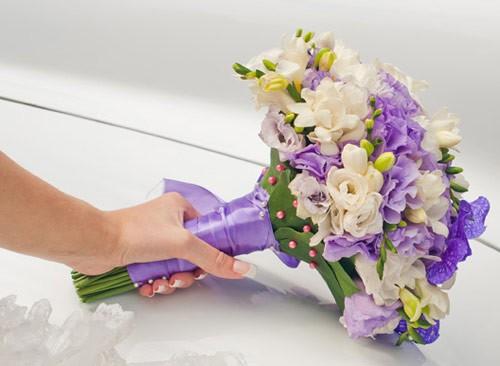 Passievol paars als kleurthema voor je bruiloft