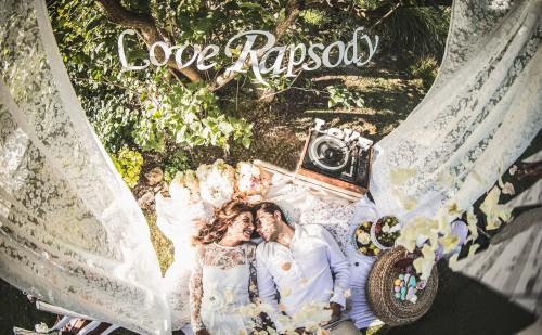 Neo-romantiek en een All-White Wedding